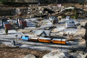 Rocky Cove Thomas Train